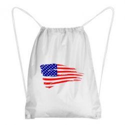 Рюкзак-мешок Флаг США - FatLine