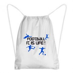 Рюкзак-мешок Football is my life - FatLine