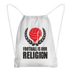 Рюкзак-мешок Football is our religion