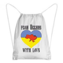 Рюкзак-мешок From Ukraine with Love - FatLine