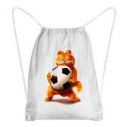 Купить Рюкзак-мешок Гарфилд любит футбол, FatLine