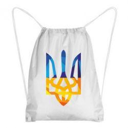Рюкзак-мешок Герб из ломанных линий - FatLine