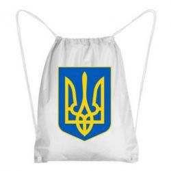 Рюкзак-мешок Герб неньки-України - FatLine