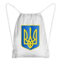 Рюкзак-мешок Герб України 3D - FatLine