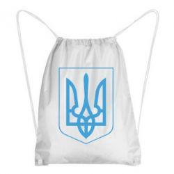 Рюкзак-мешок Герб України з рамкою - FatLine
