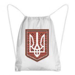 Рюкзак-мешок Герб вышиванка - FatLine