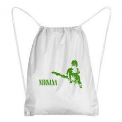 Рюкзак-мешок Гитарист Nirvana - FatLine