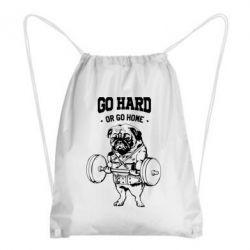 Рюкзак-мешок Go hard or go home