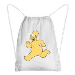 Рюкзак-мешок Голый Гомер Симпсон