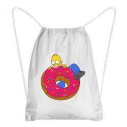 Рюкзак-мешок Гомер и Пончик - FatLine