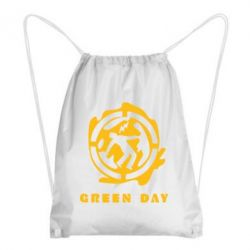 Рюкзак-мешок Green Day Logo - FatLine
