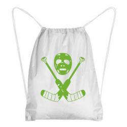 Рюкзак-мешок Хоккейная маска - FatLine