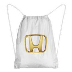 Рюкзак-мешок Honda Gold Logo - FatLine