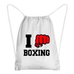 Рюкзак-мешок I love boxing