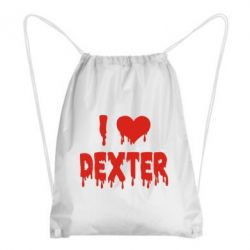 Рюкзак-мешок I love Dexter - FatLine