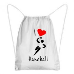 Рюкзак-мешок I love handball 2 - FatLine