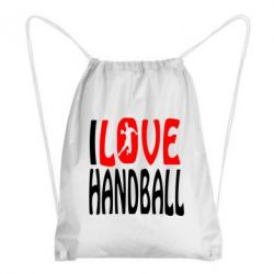 Рюкзак-мешок I love handball 3 - FatLine