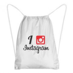 Рюкзак-мешок I love Instagram - FatLine