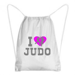 Рюкзак-мешок I love Judo - FatLine