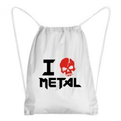 Рюкзак-мешок I love metal - FatLine
