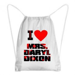 Рюкзак-мешок I love Mrs. Daryl Dixon - FatLine