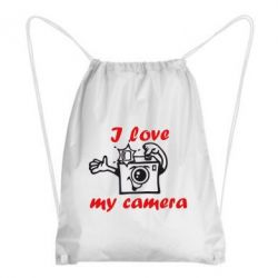 Рюкзак-мешок I love my camera - FatLine