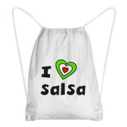 Рюкзак-мешок I love Salsa - FatLine