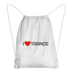 Рюкзак-мешок i love trance - FatLine