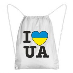 Рюкзак-мешок I love UA - FatLine