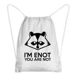 Рюкзак-мешок I'm ENOT - FatLine