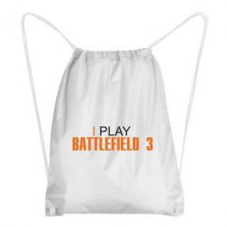 Рюкзак-мешок I play Battlefield 3 - FatLine