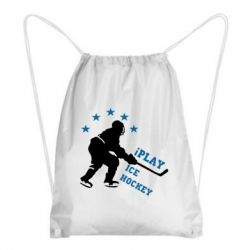 Рюкзак-мешок I play hockey - FatLine