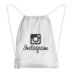 Рюкзак-мешок Instagram