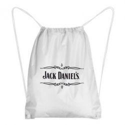 Рюкзак-мешок Jack Daniel's Logo - FatLine