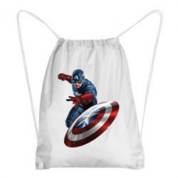 Рюкзак-мешок Капитан Америка - FatLine