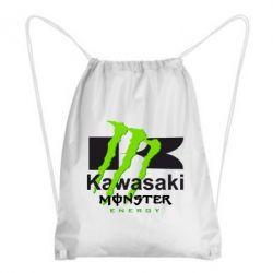 Купить Рюкзак-мешок Kawasaki Monster Energy, FatLine
