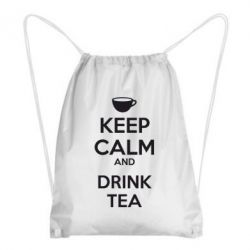 Рюкзак-мешок KEEP CALM and drink tea - FatLine