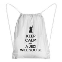 Рюкзак-мешок KEEP CALM and Jedi will you be - FatLine