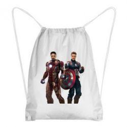 Рюкзак-мешок Кэп и Тони