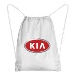 Рюкзак-мешок KIA Logo 3D - FatLine