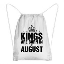 Рюкзак-мешок Kings are born in August - FatLine