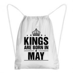 Рюкзак-мешок Kings are born in May - FatLine