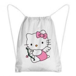 Рюкзак-мешок Kitty амурчик - FatLine