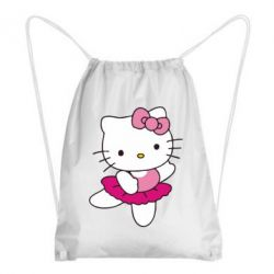 Рюкзак-мешок Kitty балярина - FatLine