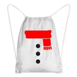 Рюкзак-мешок Костюм снеговика - FatLine