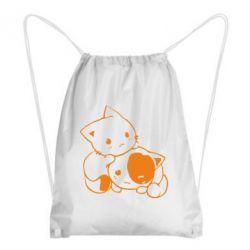 Рюкзак-мішок кошенята - FatLine