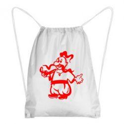 Рюкзак-мешок Козак з люлькою - FatLine