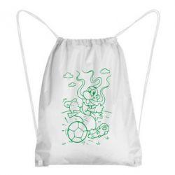 Рюкзак-мешок Козак з м'ячем - FatLine