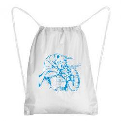 Рюкзак-мешок Козак з щитом - FatLine