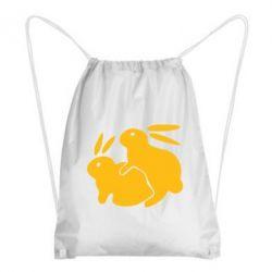 Рюкзак-мешок Кролики - FatLine